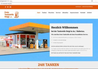 Tankstelle Heigl